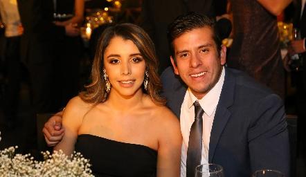 Ana María Hernández y Héctor Rueda.
