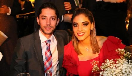 Fernando Gaviño y Erika Vega.