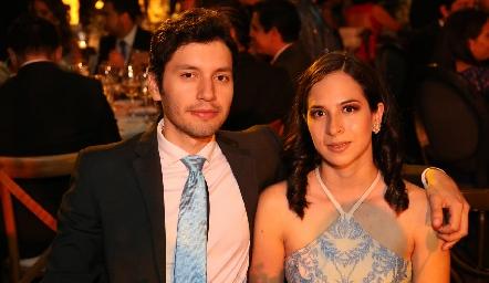 Hugo Urbina y Cata Hers.