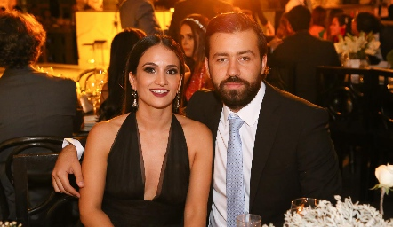 Mariana Salazar y Ferran Monsech .