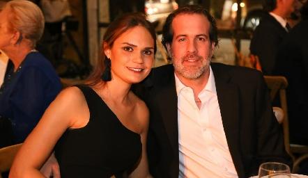 Miriam García y Herbert Trampe.