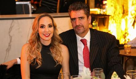 Lila y Juan Manuel Güemes.