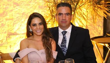 Giselle Stahl y Fernando Güemes.