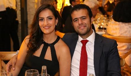 Magda Foyo y Luis Arturo Cortés.