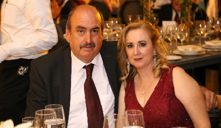 Juan Manuel y Lola Reynoso.