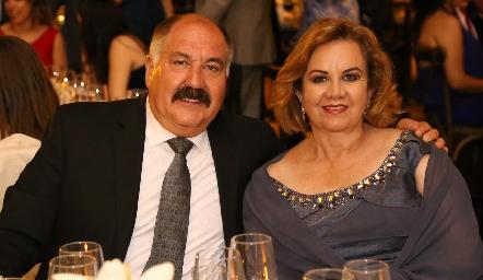Jesús Velázquez y Alicia Lozano.