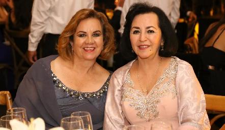 Alicia Lozano y Guadalupe Berlanga.