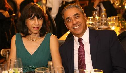 Diana y Miguel Arriaga.