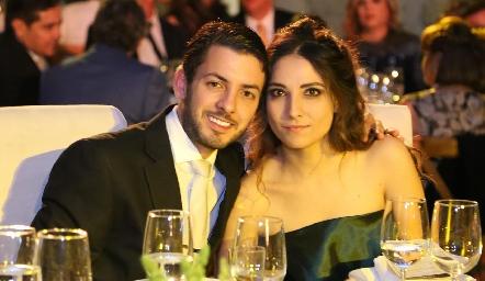 Mauricio Güemes y Daniela Torre.