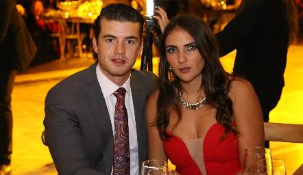 Jano Aranda y Andrea Rossel.
