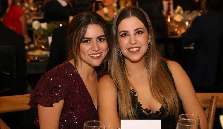 Eli Barragán y Paulina Robles.