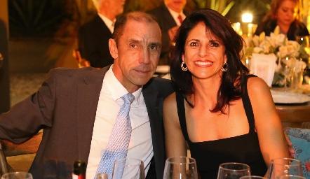 Jesús González y María Elena Güemes.