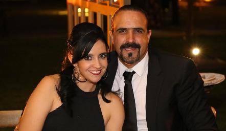 Maritza y Claudio Valle.