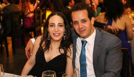 Fernanda Torres y Alejandro Sanvela.