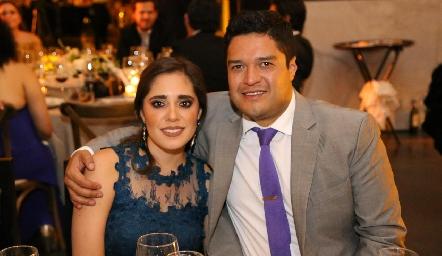 Ana Sofía Ascanio y Raymundo Blanco.