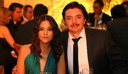 Mariana Cerda y Jaime Galarza.