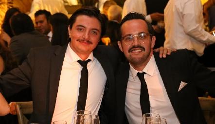 Jaime Galarza y Jorge Guevara.