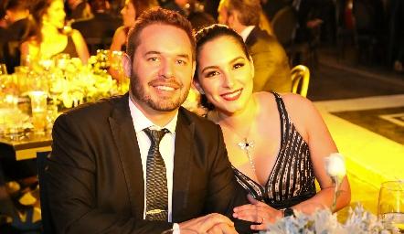 Gerardo Castro y Ana Paola.