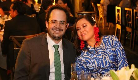 Guillermo Silva y Montserrat Hinojosa.