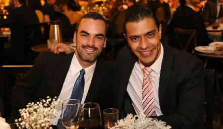 Jesús Villalpando y Armando Quintano.