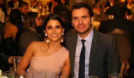 Lucía González y Ricardo Espinosa.