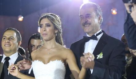 Daniela y Marco Güemes.