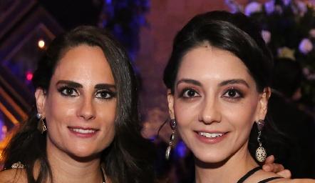 Jessica Meclich e Irene Sarquis.
