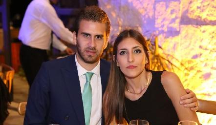 Andrés Ríos y Alejandra Llevat.