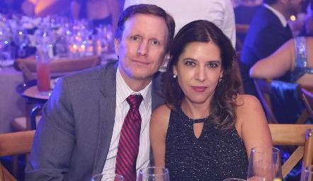 Federico García y Daniela Calderón.