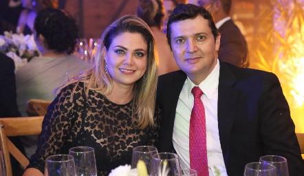Martha Leija y Fernando Guerra.