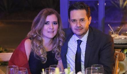 Paola Vázquez y Alex Pérez.