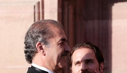 Marco Güemes y Javier De Antuñano.