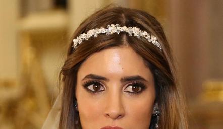 Daniela Güemes Abud, bellísima novia.