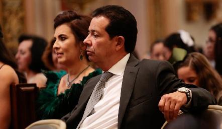 Rosy y Héctor Hernández.