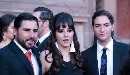 Boda de Daniela Güemes y Javier De Antuñano.
