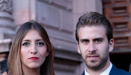 Ale Llevat y Andrés Ríos.