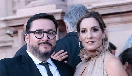 Germán González y Maribel De Antuñano.