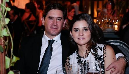 Fernando Abud y Eugenia Musa.