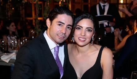 Mauricio Zollino y Nadia Solis.