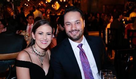 Laura Cadena y Roberto Alcalde.