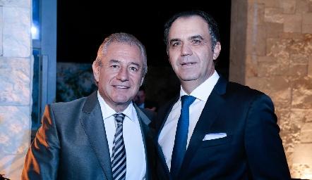 Fernando Abud y Héctor Mahbub.
