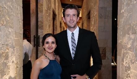 Yolanda Aguillón y Eduardo Alvarado.
