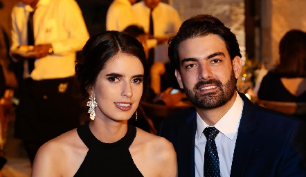 Paulina Nieto y Alejandro Abud.