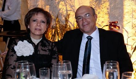 Clara Duarte y Serafín Ortiz.
