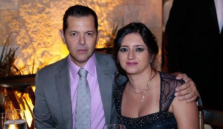 Ismael Leyva y María Fernanda León Abud.
