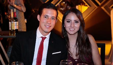 Enrique Medina y Andrea Armería.