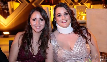 Andrea Armería y Sofía González.