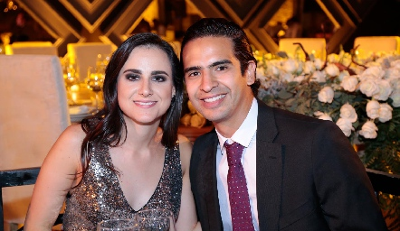 Susana Schekaibán y Héctor Hernández.