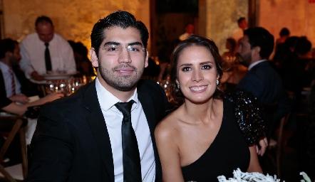 Gibrán Delsol y Sofía García.