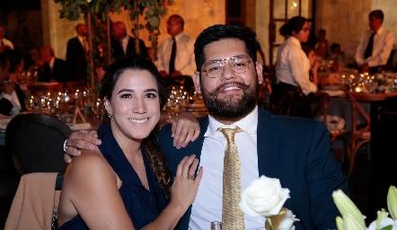 Montserrat Ortiz y Enrique Galindo.